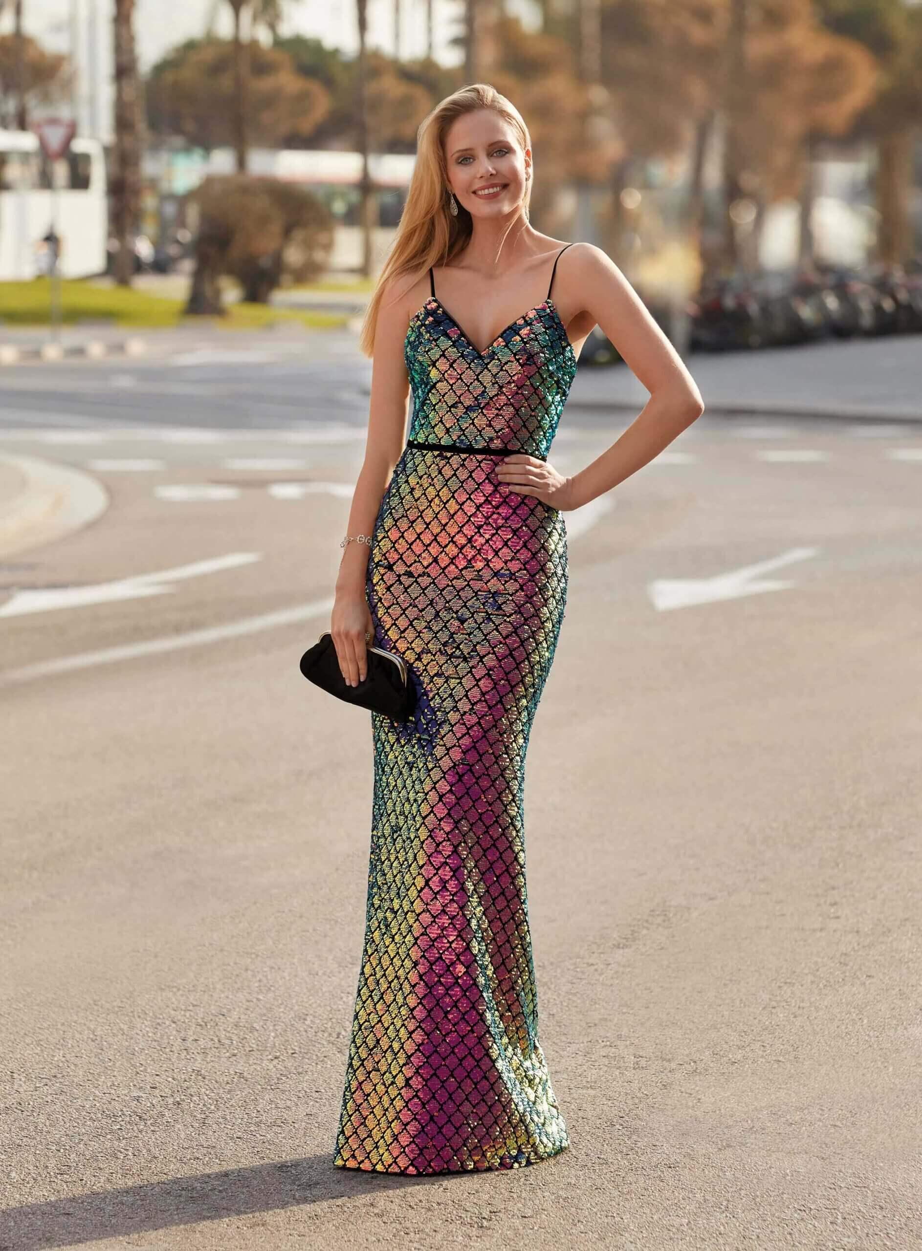 Strakke Gala jurk